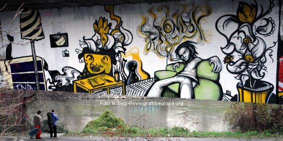 graffiti news 204: graffiti in wien, Hause deko