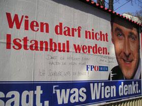 Graffiti politischer hintergrund