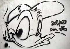 J Lodewick Graffiti Und Drogen Pochoirs Und Drogenmotive